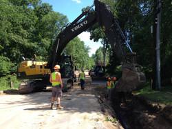 Wallace excavator