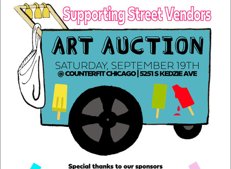Art Auction Supporting Street Vendors