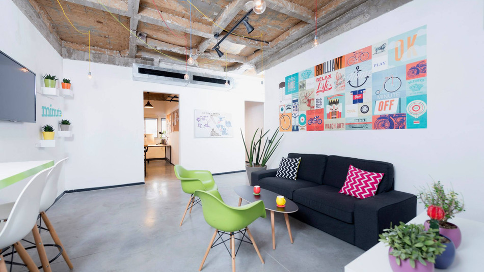BOLD & COLOURFUL | Minute offices, TLV