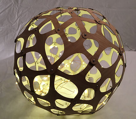 lampshade side light