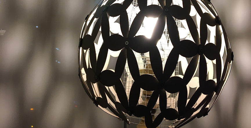 triangle mapping lampshade