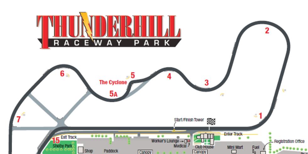 Thunderhill - August 14th, 2020