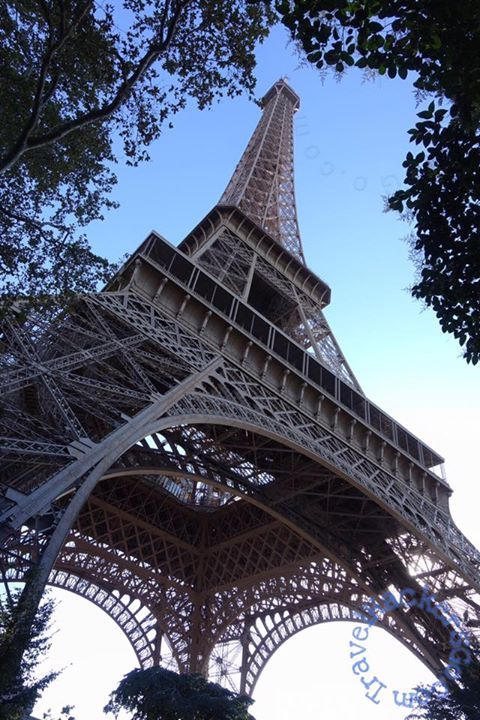 Solo trip to Paris, August, 2016