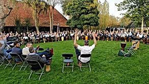 Workshops percussie voor jong en oud, kl