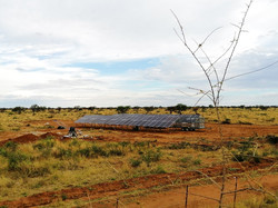 solar project in working