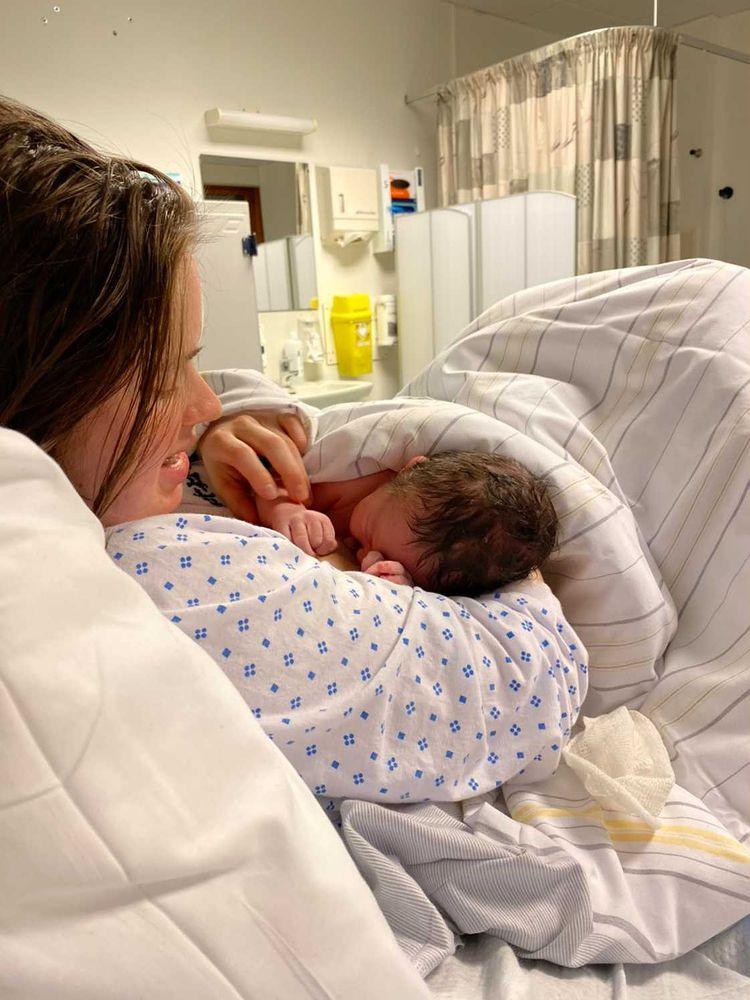 Linneas positive fødselshistorie
