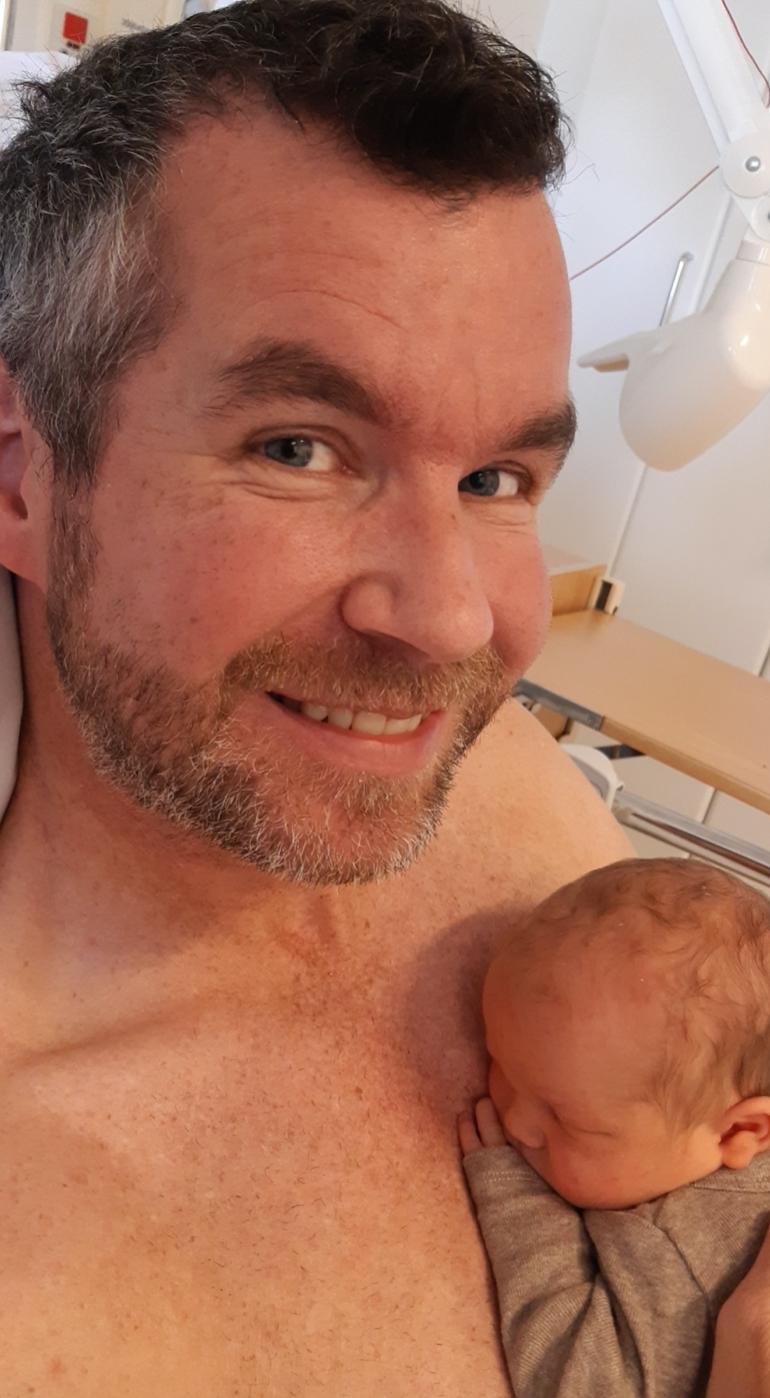 Pappas positive fødselshistorie