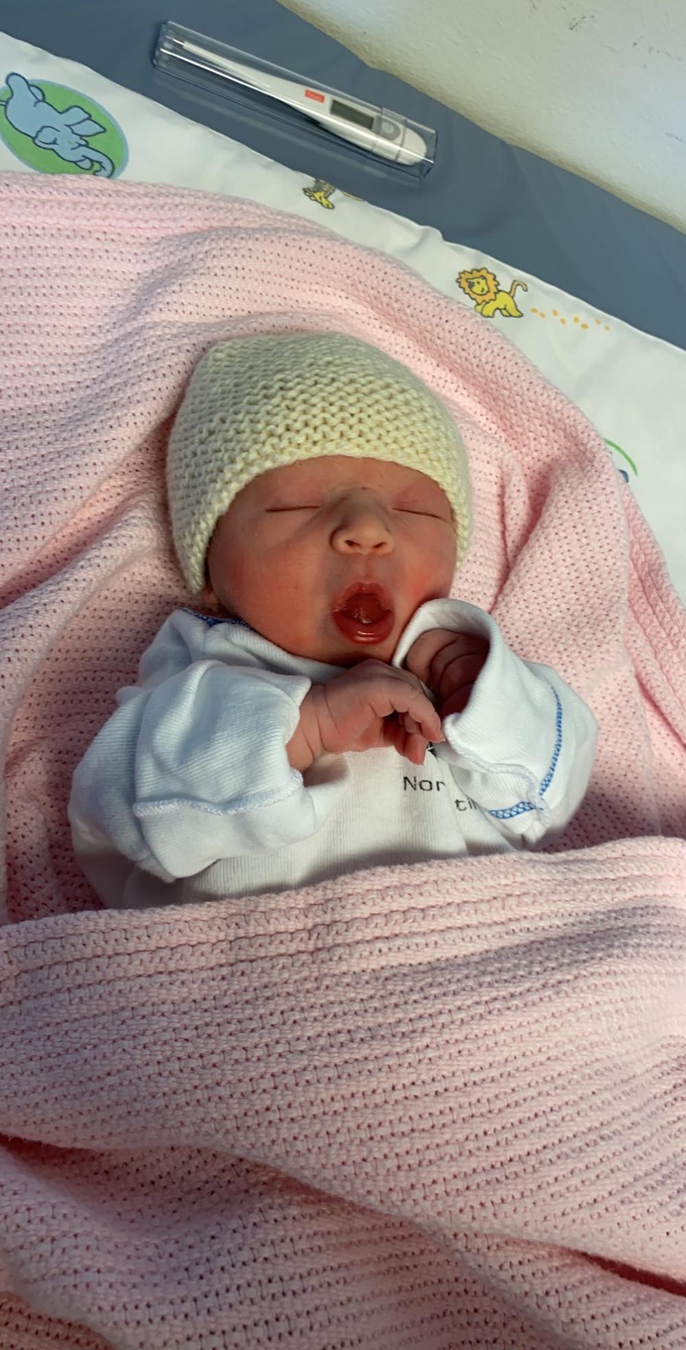 Editas fødsel ble annerledes enn hun hadde sett for seg