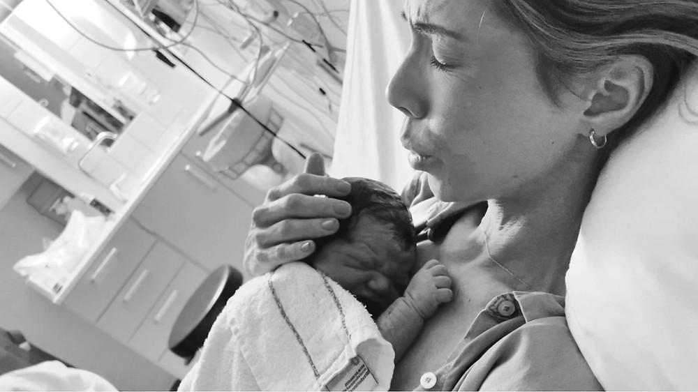 Ann Cecilie fødte sitt andre barn på Ullevål sykehus