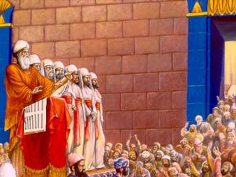 פורים במקדש