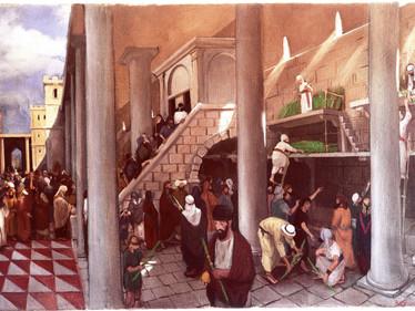 לולב במקדש
