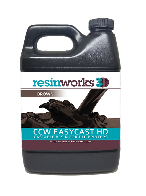 CCW EasyCast HD brown DLP - 500g bottle