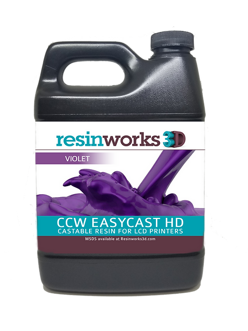 CCW EasyCast HD violet LCD - 500g bottle
