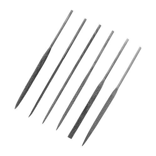 Modelcraft 6 Piece Needle Rasp File Set (140mm)