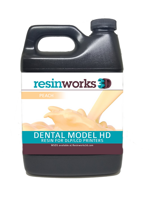 Dental Model peach - 1kg bottle