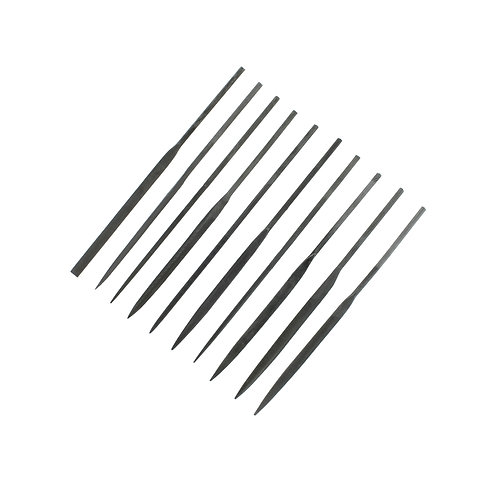 Modelcraft 10 Piece Medium Cut Needle Files Set