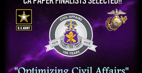 Committee Selects Civil Affairs Issue Papers for November Symposium