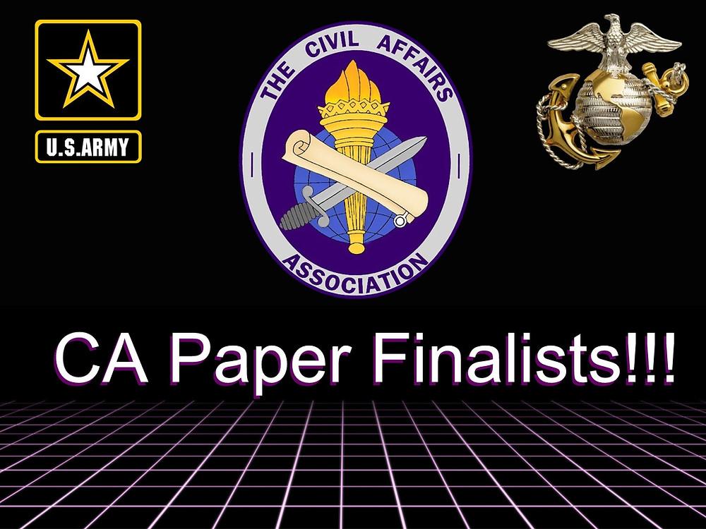 CA Paper Finalists