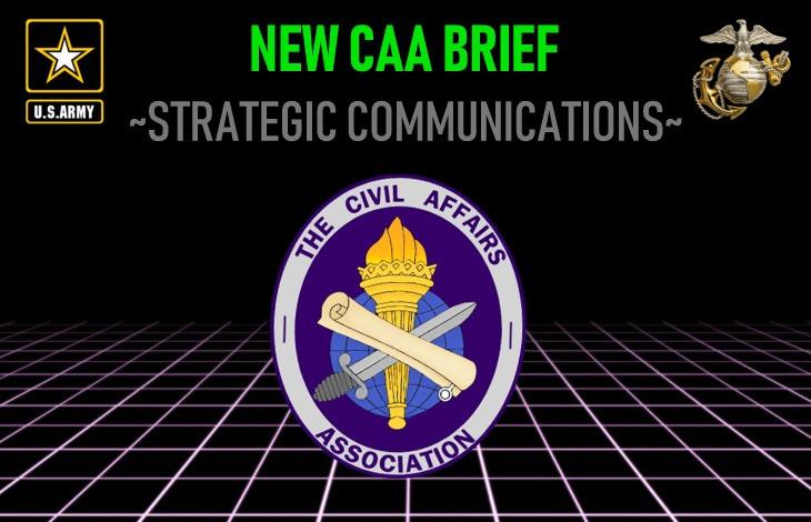 CAA STRATEGIC COMMUNICATIONS