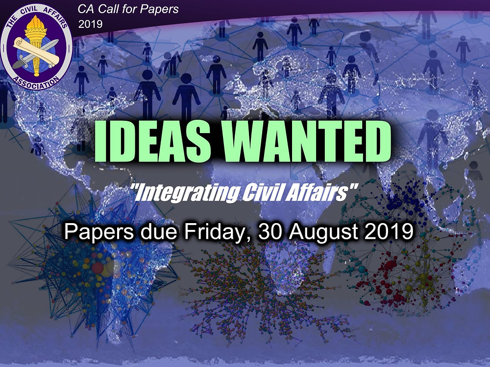 CA Call for Papers 2019