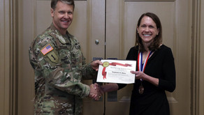 Order of Saint Gabriel Awarded to COL Stephanie Ahern
