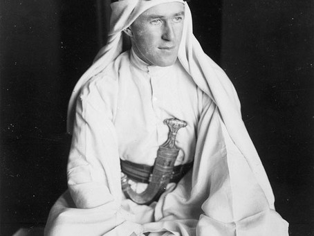 Drink and Discuss T.E. Lawrence