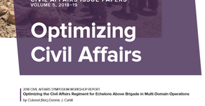 """AUSA Publishes Issue Papers on """"Optimizing Civil Affairs"""""""