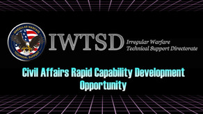 Rapid Civil Affairs Capability Development Opportunity