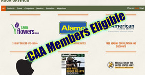 CAA Members Eligible for AUSA Member Savings Program
