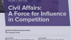 Seventh Volume of the Civil Affairs Issue Papers Is Out!