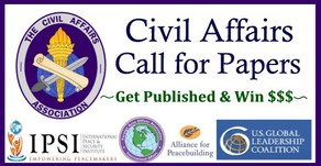 "CA Call for Papers: ""Optimizing Civil Affairs"""