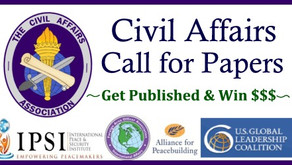 """2019-10 Civil Affairs Call for Papers: """"Integrating Civil Affairs"""""""