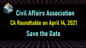 Civil Affairs Roundtable: April 14th 2021