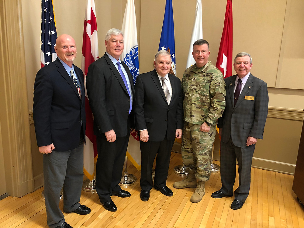 General Zinni with CA Association