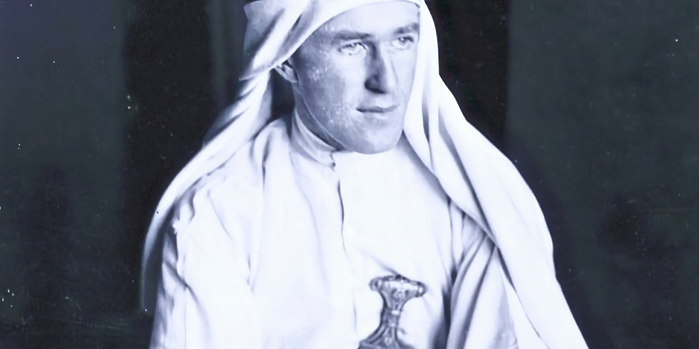 Happy Hour Drinks and Discussion on T.E. Lawrence