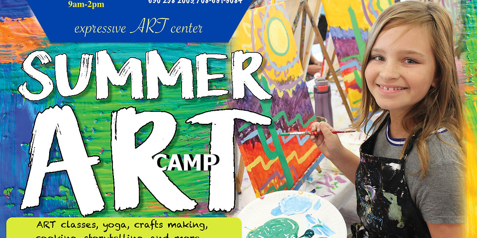 Yoga and ART summer camp for kids