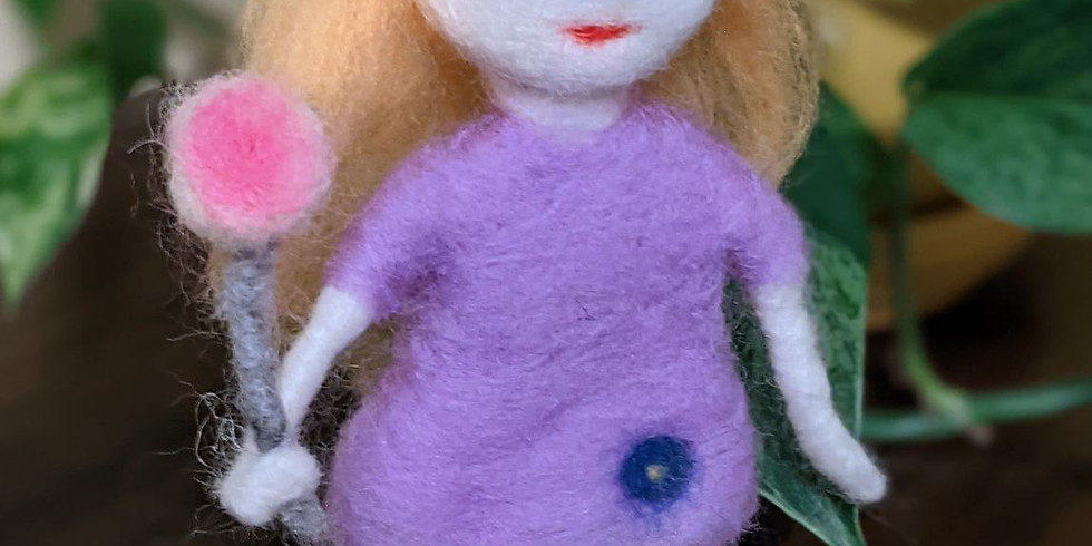 Mother's Day Special - Introduction To Felting: How To Make A Felted Doll