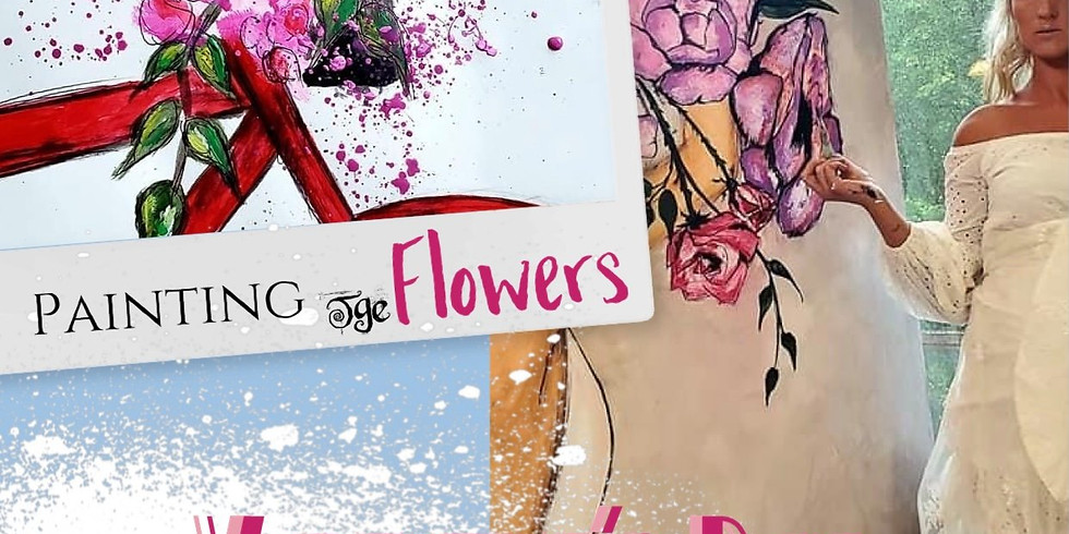 Painting FLOWERS  - SOLD OUT
