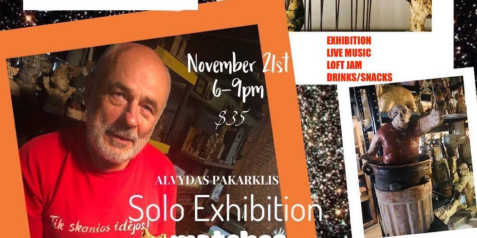 """Alvydas Pakarklis SOLO Exhibition """"Matches"""""""