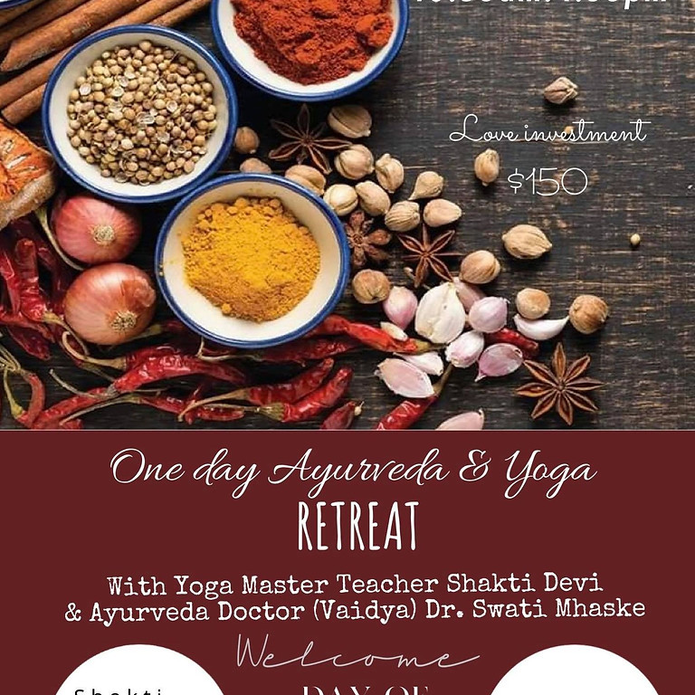 One Day Ayurveda and Yoga  Retreat