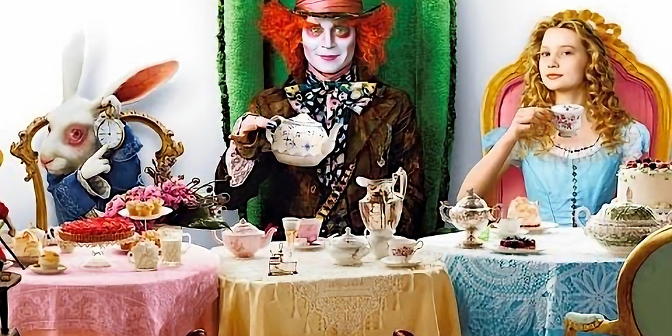Alice in the Wonderland - Live Music, Expressive painting, TEA PARTY!