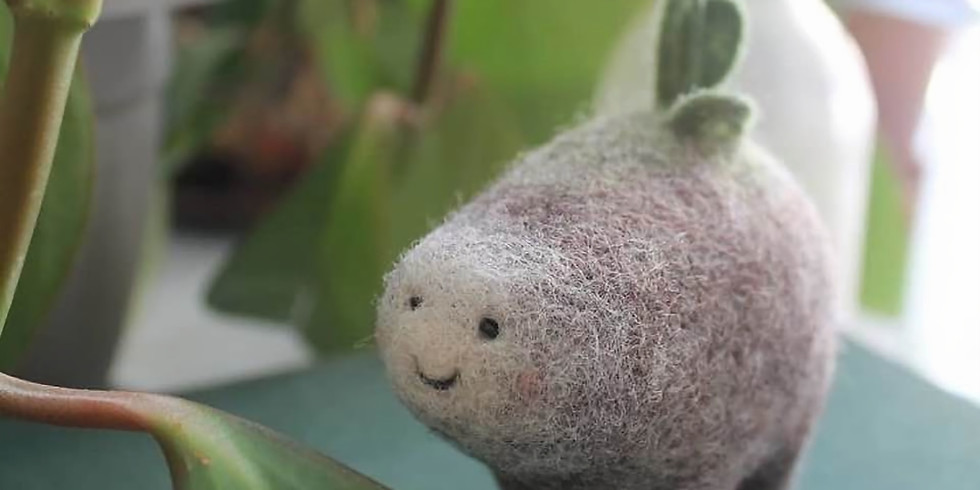 Create adorable toys using felted wool