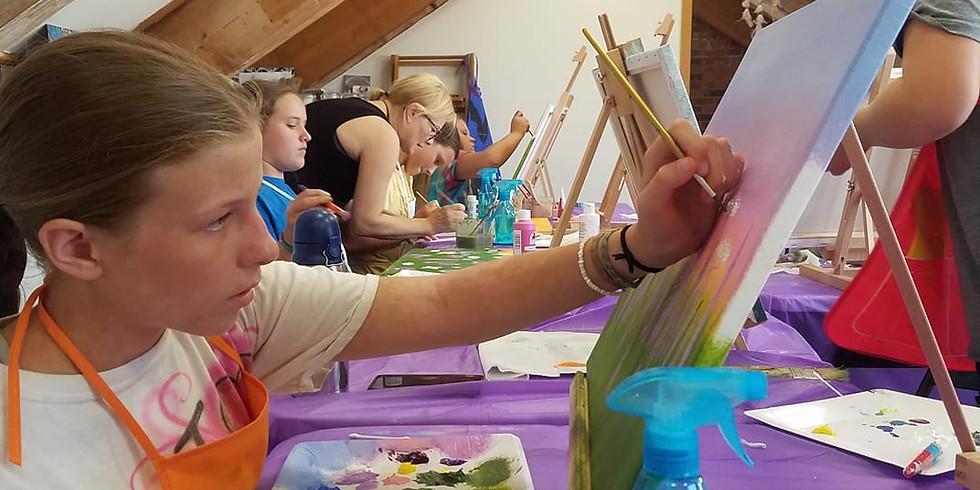 Kids summer YOGA and ART camp