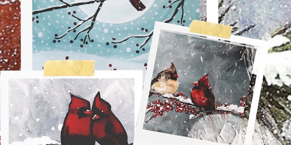 Painting Winter Birds Workshop