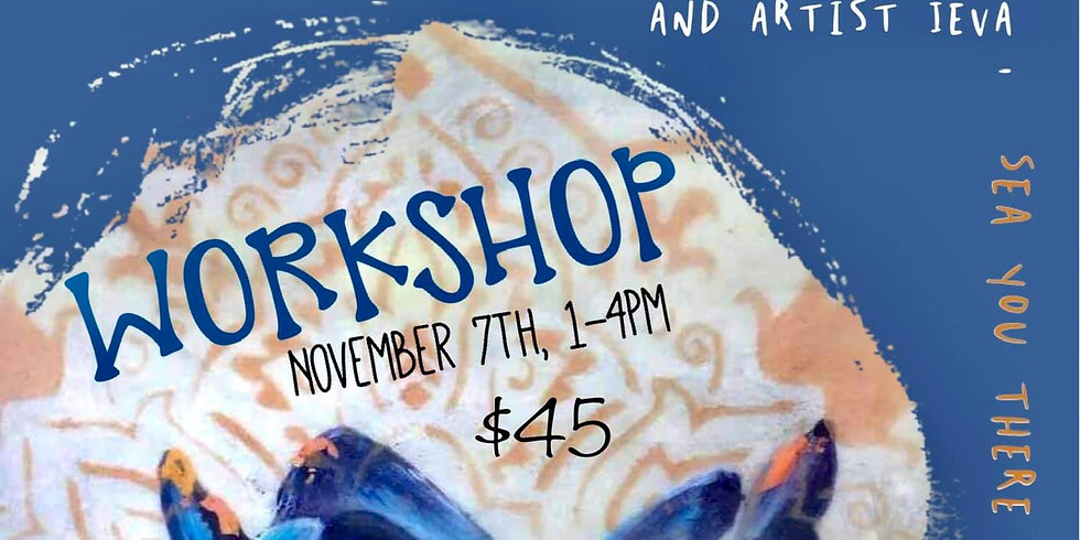 Lotus of the HEART - yoga and painting workshop