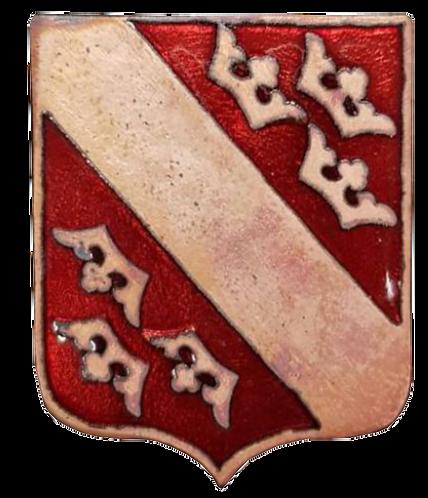 "Insigne GC1 ""Alsace"". Fabrication Damas"