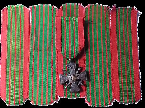 Ruban Croix de Guerre - type nécessité - AFN