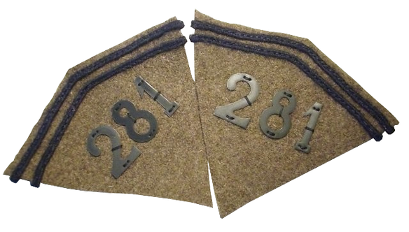 Pattes de col Infanterie