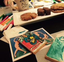 Fine Art Cookie Class