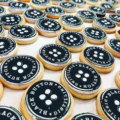 Black Button Cookies